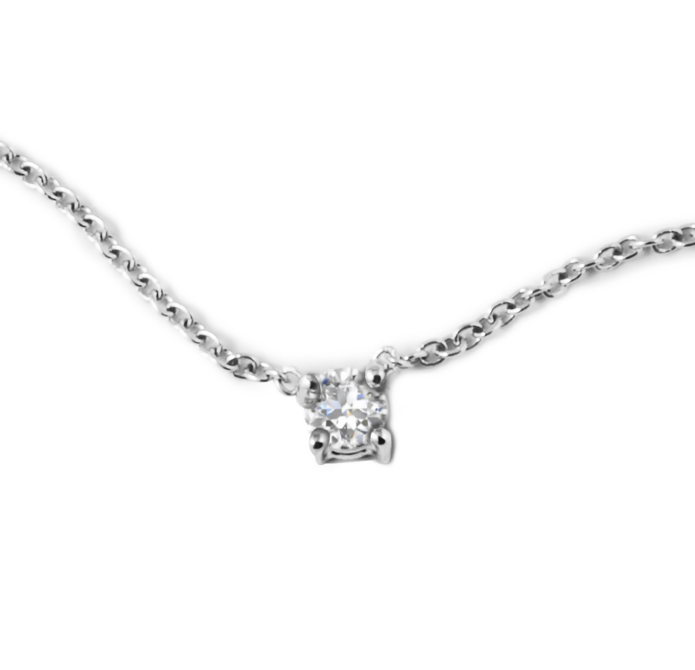 solitaire carat necklace diamond wg catalog pendant