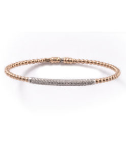 Micropave diamanten slavenarmband