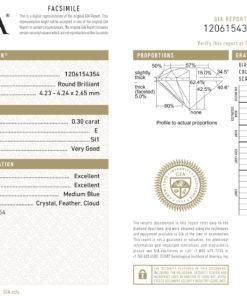 0.30 E SI1 GIA 1206154354