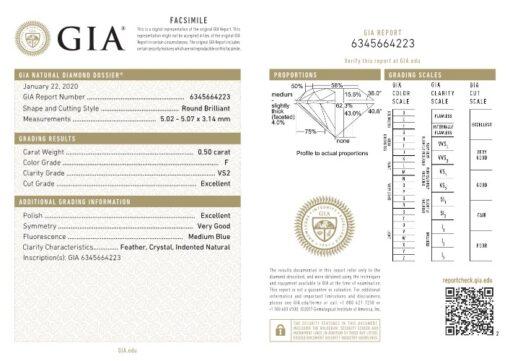 0.50 F VS2 GIA 6345664223