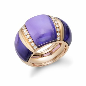 [en:]Amethyst diamond cocktail ring[/en][nl:]Amethist cocktail ring[/nl]