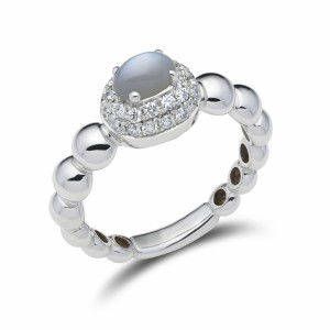 [en:]Diamond pavé ring with moontstone[/en][nl:]Diamanten pavé ring met maansteen[/nl]