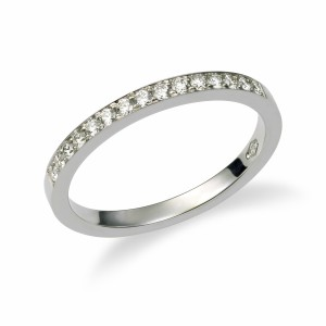 [en:]Pavé diamond wedding ring[/en][nl:]Diamanten pavé alliance trouwring[/nl]