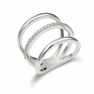 [en:]Three line open diamond ring[/en][nl:]Open driebanden ring[/nl]